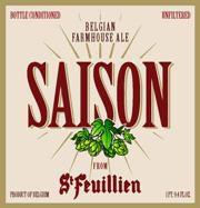 St Feuillien Saison 20L Image