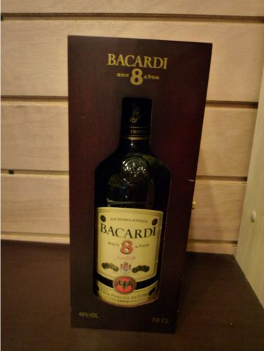 Bacardi 8 ans superior 40° 70cl Image