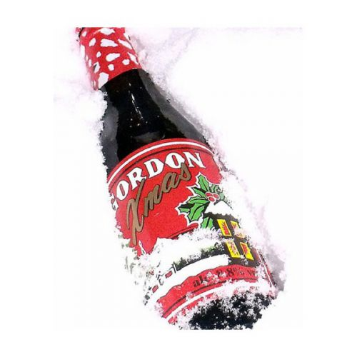 Christmas Gordon 24x33cl Image