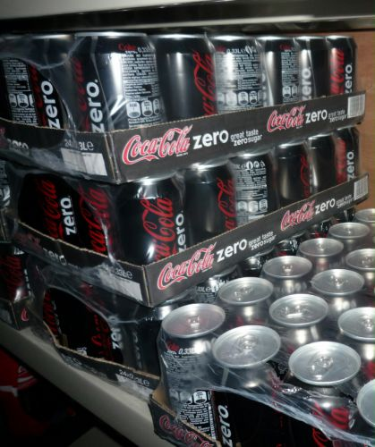 Coca-Cola zéro 24x33cl boîtes Image