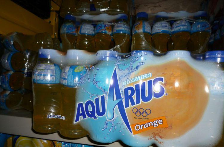 Aquarius orange 24x33cl PET Image