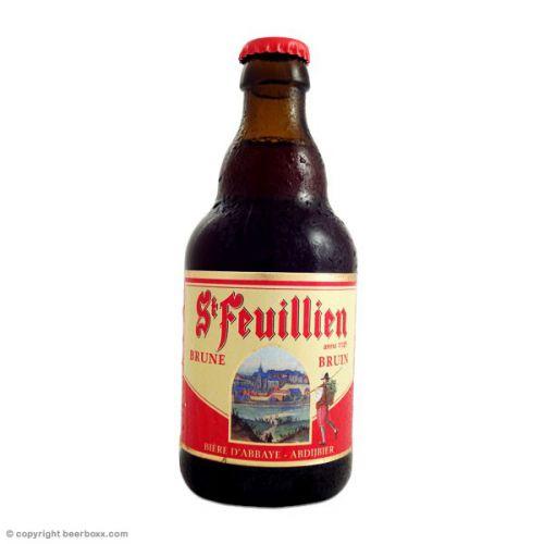 St Feuillien brune 24x33cl Image