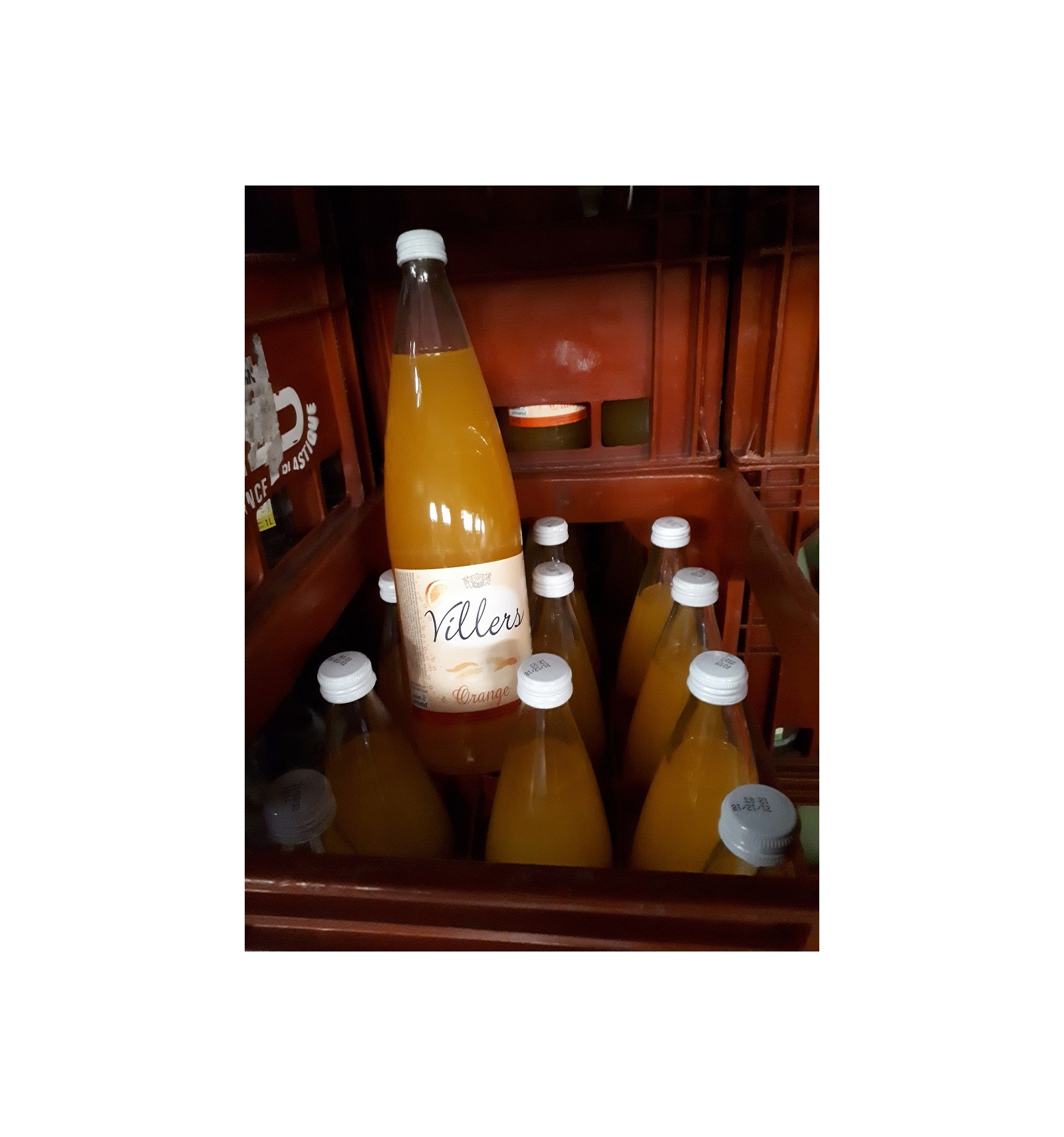 Villers limonade orange 6x1L Image